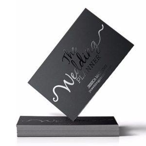Silk Laminated & Spot UV Business Cards