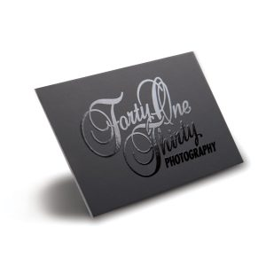 Silk Laminated & Spot UV Business Cards