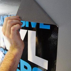 Adhesive Vinyl Printing