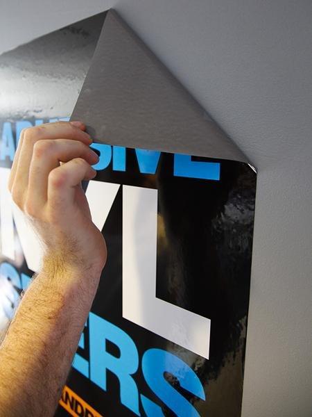 Adhesive Vinyl Signs