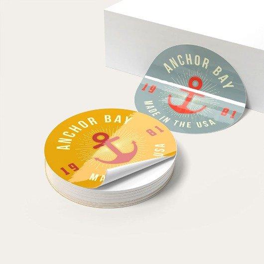 Adhesive Vinyl Stickers