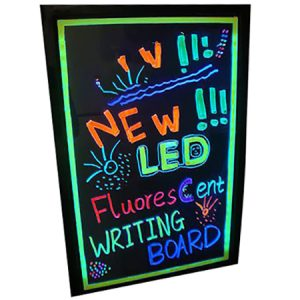 LED Rewriteable Sign Board