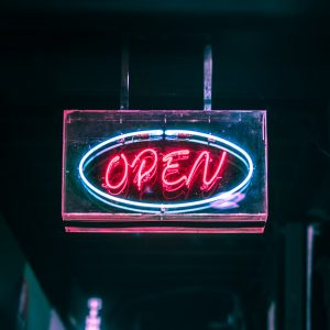 Led Open Neon Sign