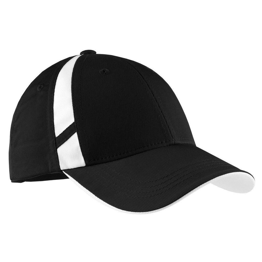 Sport-Tek Dry Zone® Mesh Inset Cap