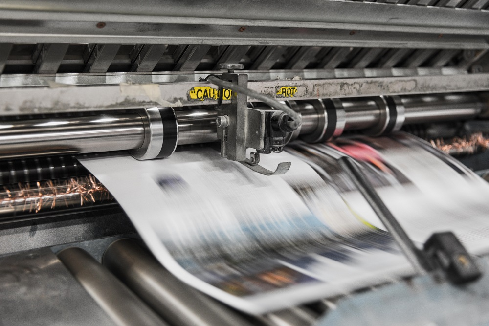 printing machine of high-quality business postcards in the usa